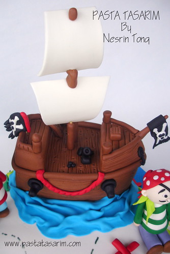 PIRATES CAKE- AHMET'S BIRTHDAY