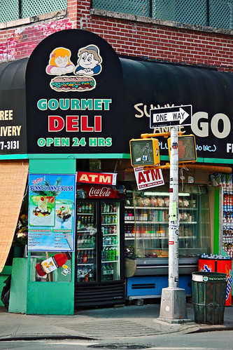 New York. East Village. Avenue B. Deli