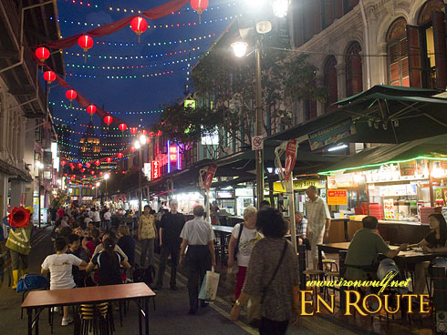 China Town Night Smith Street