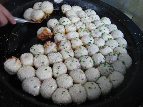 sheng jian bao from Yang's Fry Dumpling