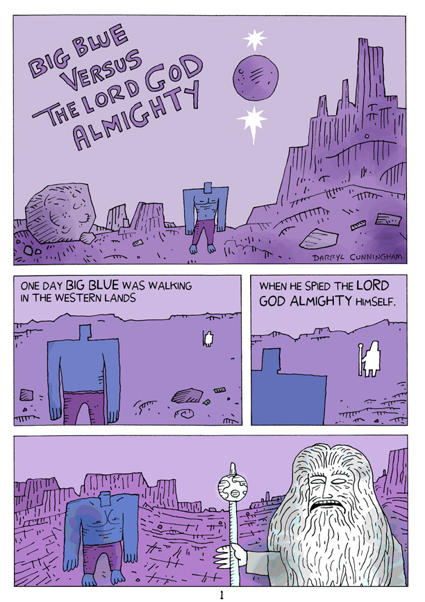 Big Blue Versus The Lord God Almighty
