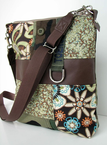 recycled mil spec flap bag