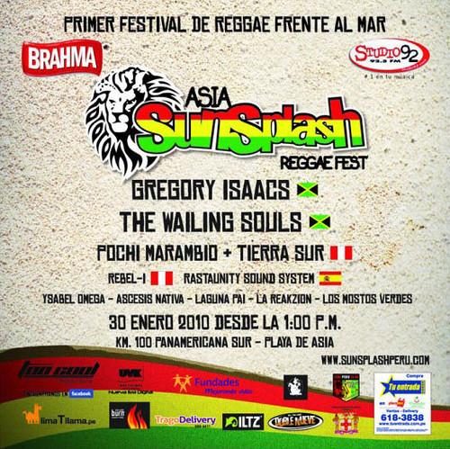 Asia Sunsplash Reggae Fest - Playa de Asia