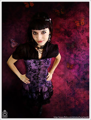 Sofia Ruiz - Masque of Death (lucychan84) Tags: madrid celebrity metal death sofia group goth band singer ruiz masque