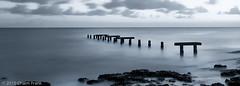 Solace (jetrated) Tags: ocean sea sky seascape landscape paisaje shore curacao caribbean sundownsunset korsou