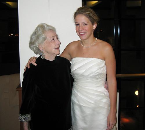 Gigi with the bride