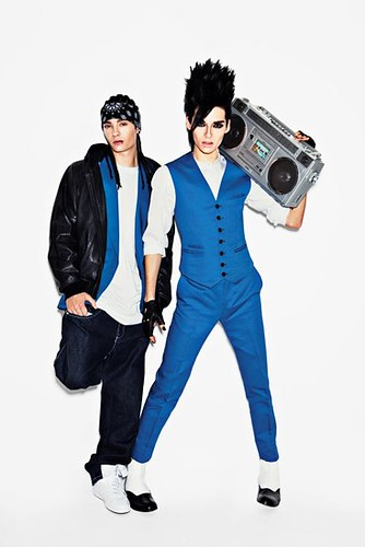 tom kaulitz 2010. Bill and Tom Kaulitz GQ