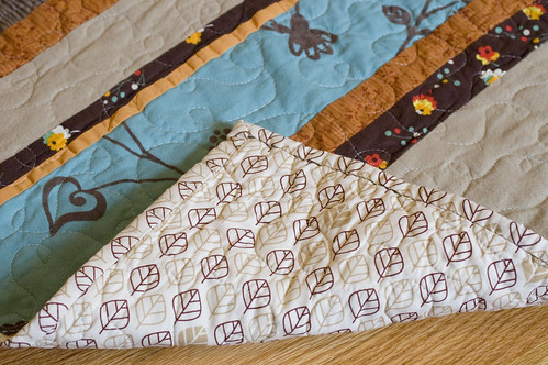 baby quilt for Silas
