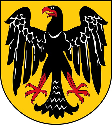 In 1950, the Federal Republic of Germany reintroduced the symbol along ...