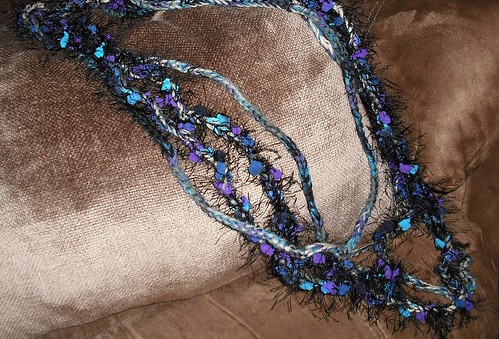 nubby purple