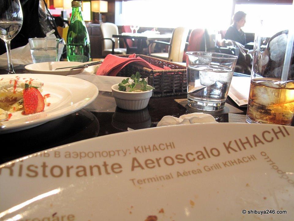 Ristorante Aeroscalo KIHACHI. great.