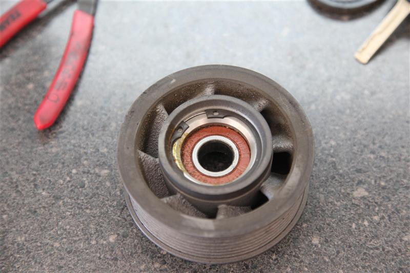 DIY: SC Idler Pulley Bearing repair - Page 2 - MBWorld org