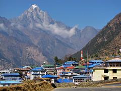 Lukla-Everest Base Camp Trek-Nepal (mikemellinger) Tags: nepal camp mountains trekking trek landscape airport scenery village hiking snowcapped khumbu everest base himalayas lukla