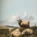 Four Sheep, Thomas Sidney Cooper, Oil on Panel, 1874, OP241