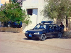 Police Vehicle Lurking (MS4d) Tags: road street city trooper cars public car riot peace traffic parking guard egypt police center security vehicles national egyptian vehicle safe emergency asphalt 406 peugeot swat sinai unit  gaurd