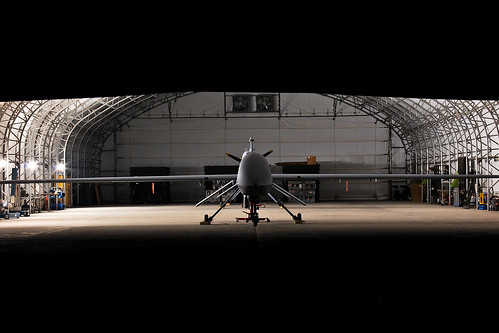 An MQ-1C Sky Warrior unmanned aircraft system