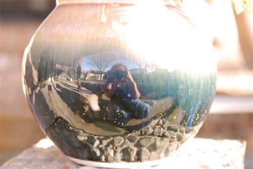 Vase-Mirror