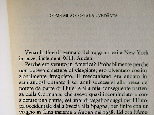 Christopher Isherwood, bibliografia italiana, 1990 – 1996 (4 di 5)