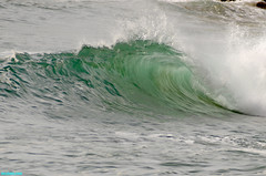 TurquoiseTunnel (mcshots) Tags: ocean california sea usa nature water surf waves stock tubes surfing socal surfers mcshots swells venturacounty 11510