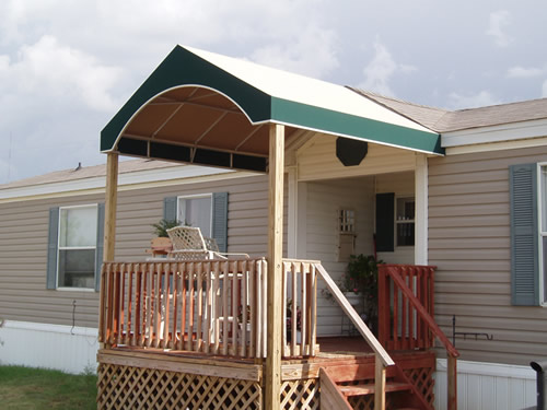 Gable Entry Awning