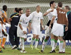 Cote d'Ivoire 2 - 3 Algrie, CAN 2010. (menosultra) Tags: cup algeria football team african soccer egypt can mai national ago algerie coupe algrie karim 2010 angola afrique  cabinda  socer ziani lquipe    algrienne  matmour yebda haliche