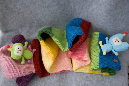 Noby Noby Boy scarf (tail end)