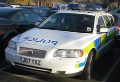 North Yorkshire Police - Volvo V70 Traffic Car - ANPR Team (YJ07 YXZ)