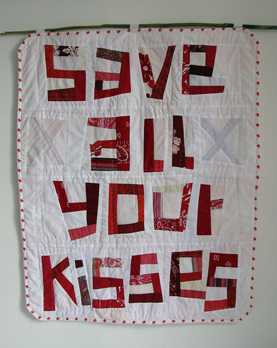 Kisses quilt number 2