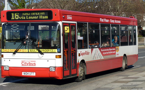Plymouth Citybus 004 N104UTT