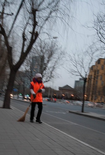 Sweeping the recently-swept streets