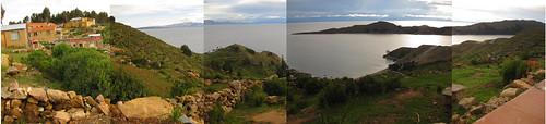 Isla del Sol panorama