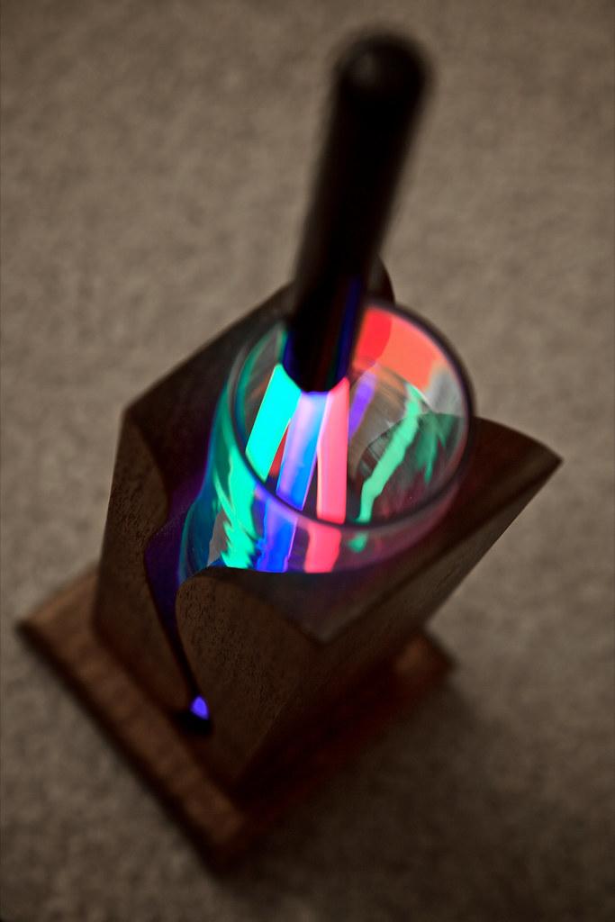 29/365: Glow Stick Vase