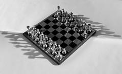 Symmetry (eriksweeklyphoto) Tags: blackandwhite game delete10 delete9 delete5 delete2 shadows delete6 delete7 chess delete8 delete3 delete delete4 save save2 symmetry strobist strobistsundays deletedbythehotboxuncensoredgroup