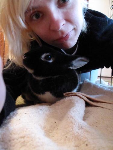 Me and Oreo having fun.
