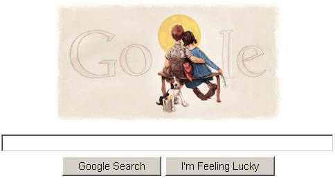 Norman Rockwell Google