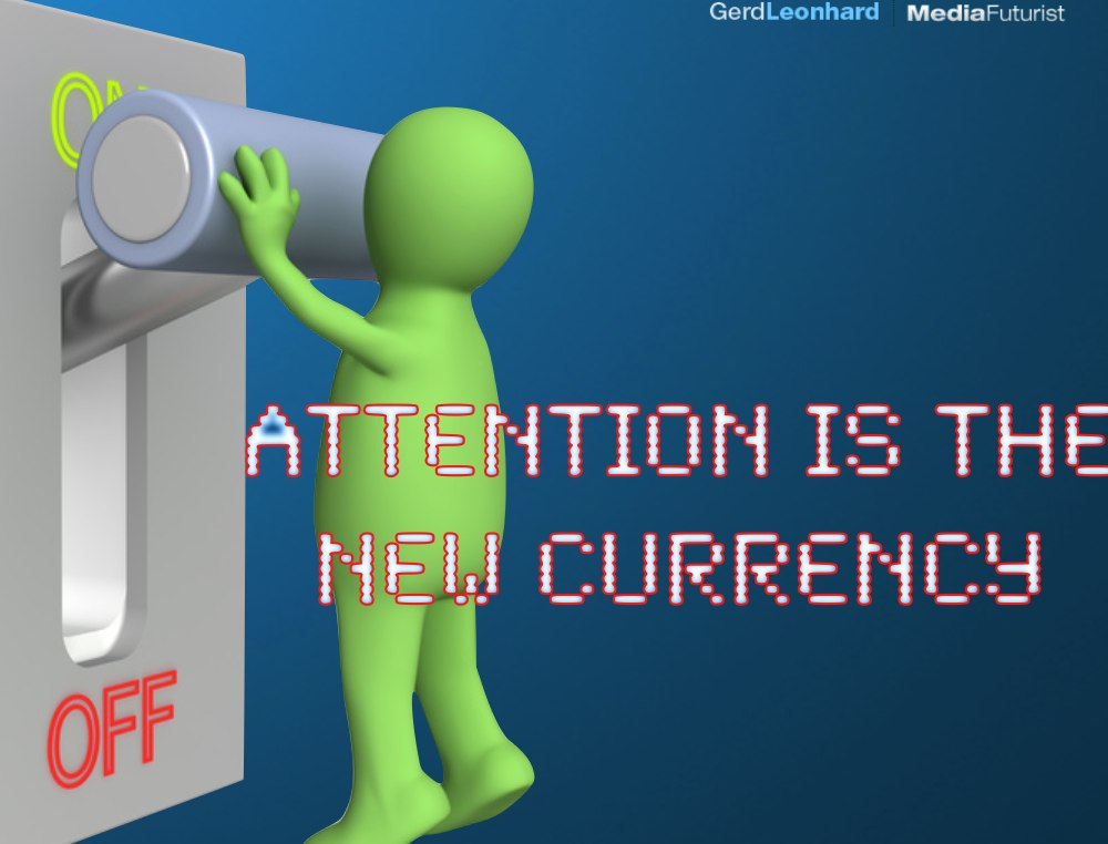Attention is indeed the new currency