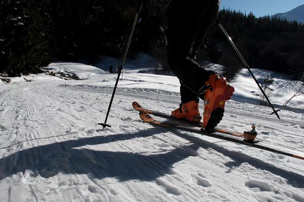 Scialpinismo anello Cimone Lagoni