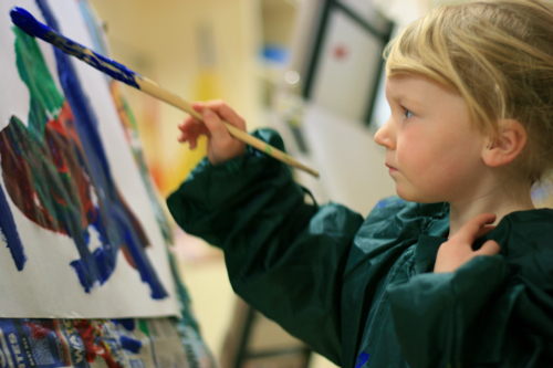my first kinder painting 2010