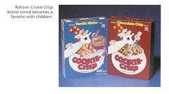 Vintage Ralston Cookie Crisp Cereal Boxes (gregg_koenig) Tags: old food dog cakes cup st fruit breakfast cat vintage gum pie star louis cookie display box cereal crisp chow bubble packaging hostess interstate wars chex jarvis 1970s 1980s ding tender wrapper ralston dong brands twinkies ibc vittles dongs purina checkerdome