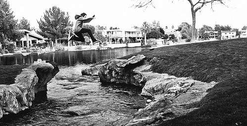 Sean Jump Over Lakes River