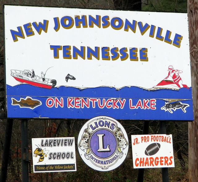 New Johnsonville sign