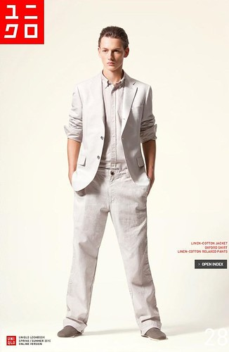 UNIQLO 0247_LOOK BOOK 2010 SPRING_Jakob Hybholt