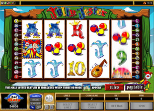 Jolly Jester slot game online review