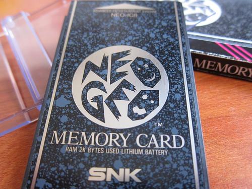 Memory Card Neo Geo