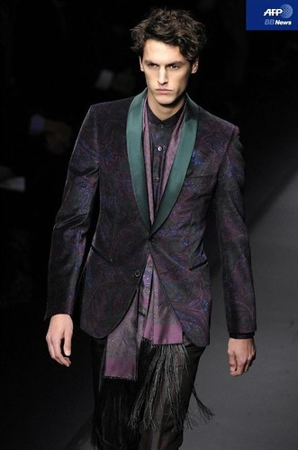 Mathias Bergh3086_FW10_Milan_Salvatore Ferragamo(AFP BB News)