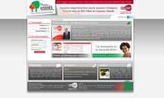 Web XV Congreso Nacional de Jóvenes Empresarios