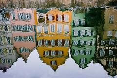 Neckarfront reflections (til213) Tags: winter reflection altstadt neckar reflektion tbingen flus tubinga neckarinsel abigfave