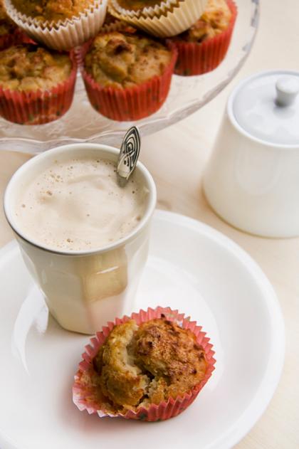 Muffin integrali con Mele e Cannella