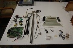 Scanner Teardown Parts