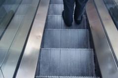 Escalator (F3bruary) Tags: seattle pentax escalator goingdown kx
